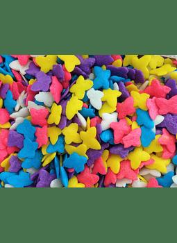 Confetti figura mariposa Kg
