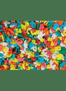 Confetti figura Alfabeto Kg