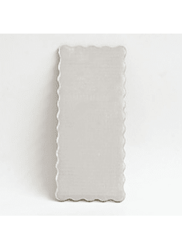 Base plateada 15X35 cm
