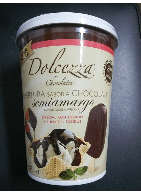 Chocolate Dolcezza Cobertura para fuente