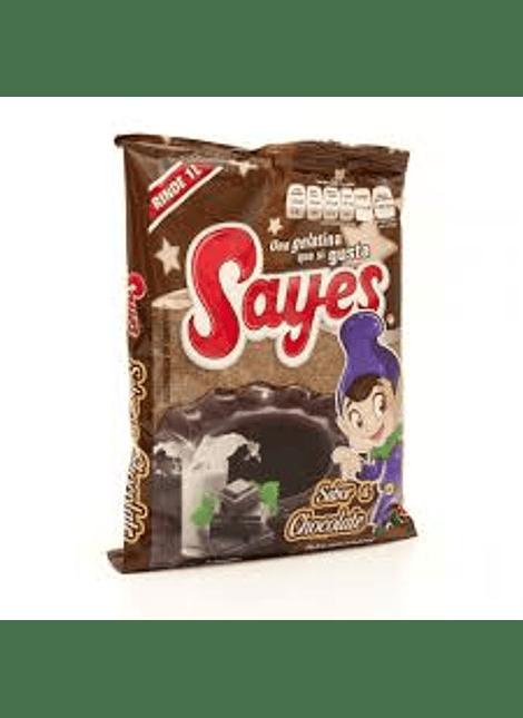 GELATINA SAYES CHOCOLATE 170GR