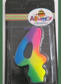 4 multicolor