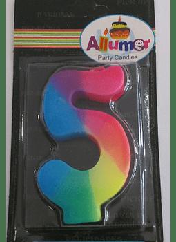 5 multicolor
