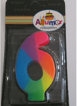 6 multicolor