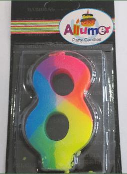 8 multicolor