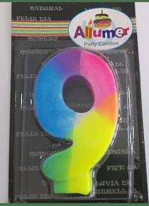 9 multicolor