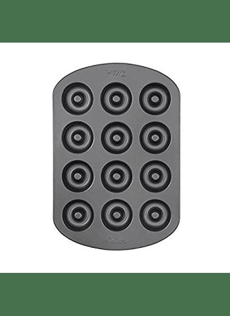 molde mini donas 12 cavidades wilton