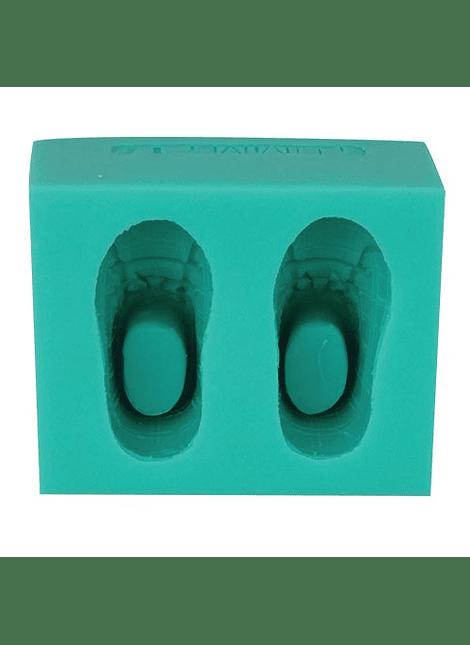 Molde de silicón zapatitos 4-2064
