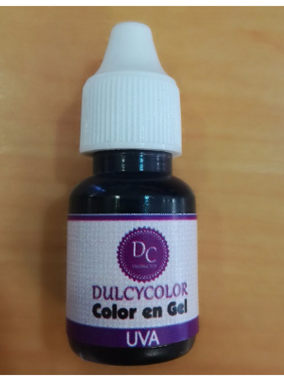 Color vegetal Dulcycolor uva 10 ml