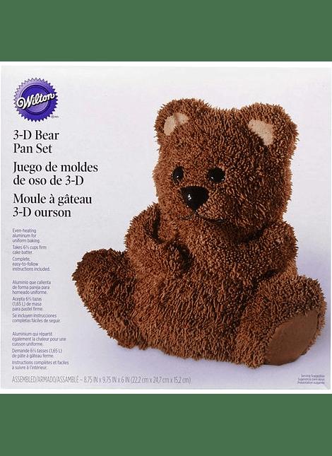 Molde oso 3d Wilton 2105-603
