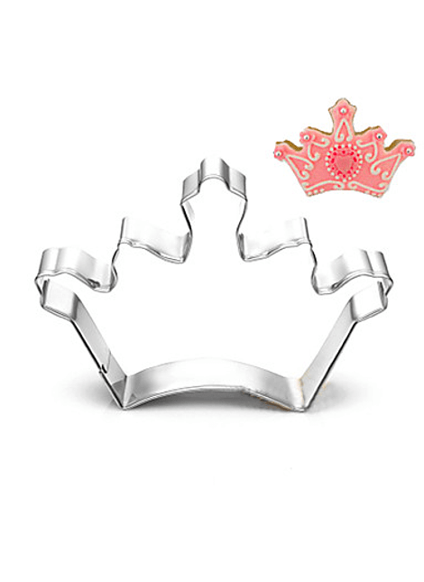 Cortador de ácero inoxidable corona de princesa