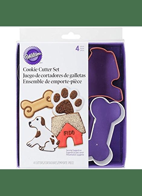 Juego cortador casita perro hueso Wilton 2308-0910