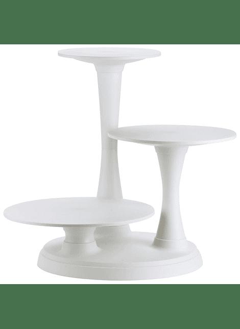 Soporte p pasteles 3 pisos con pilares Wilton 307-350
