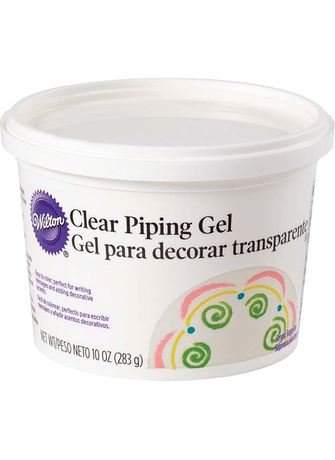 Piping Gel p decorar transp 283 gr 302084W