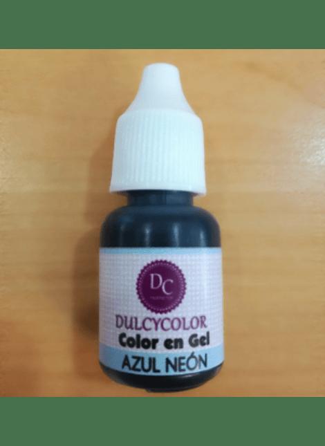 Color vegetal Dulcycolor Azúl neón 10 ml