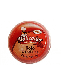 Matizador Rojo Mate