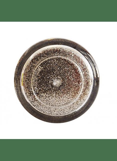 Diamantina Dulcycolor tarro de 10 gr plata