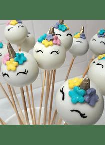Curso Cake Pops y Cupcakes de Unicornio