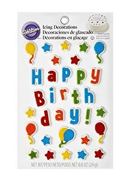 Icing juego cumpleaños 710-6075