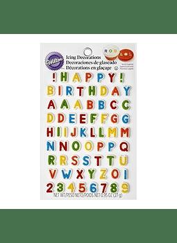 Icing letras y números 710-6042
