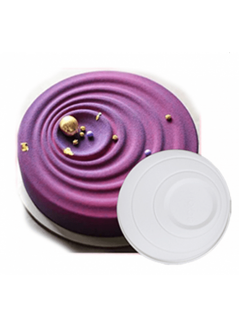 Molde silicón círculos concéntrico 174002
