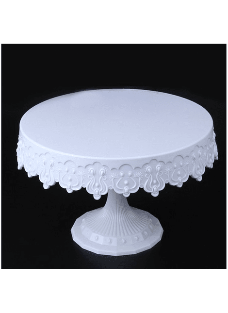 Pedestal Blanco Plástico 22x11.5 TC01688
