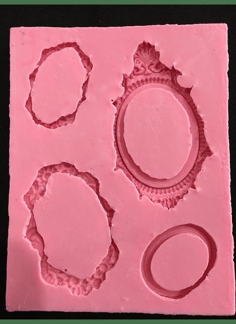 Cuadros Vintage marcos x 4 MSC195