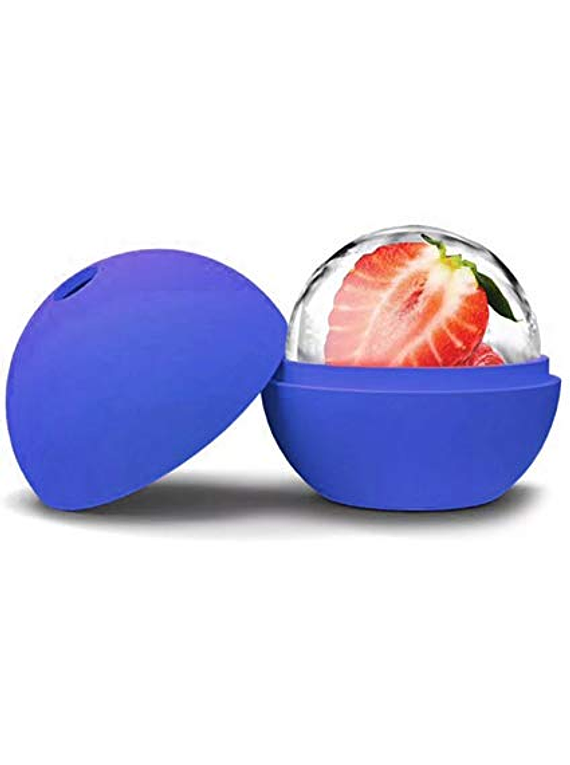 Molde de silicón esfera grande