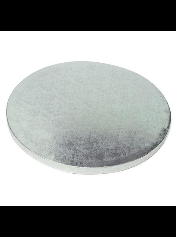 Base redonda plata 10