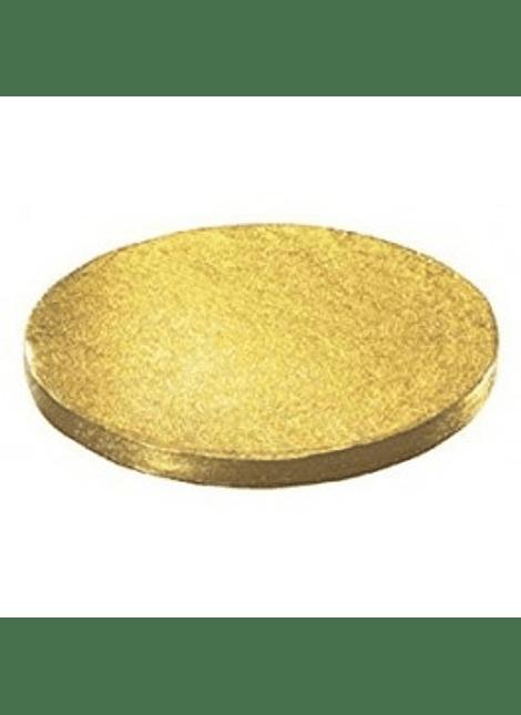 "Base redonda oro 10"" 450-8010"
