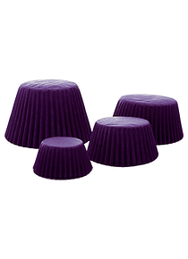 Capacillo Std Morado 500 pz 4-1111