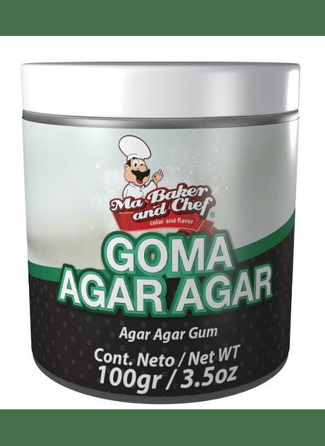 Goma agar agar 100 gr