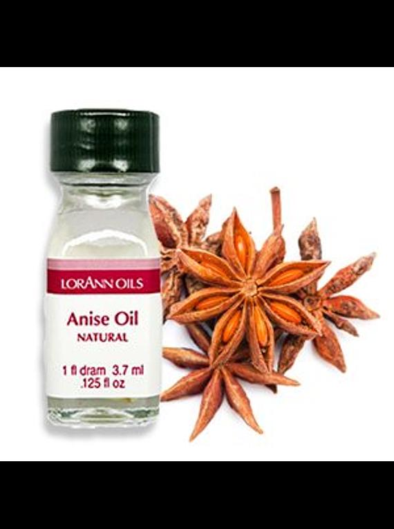 Aceite natural de anis 1 dram=0.125 oz