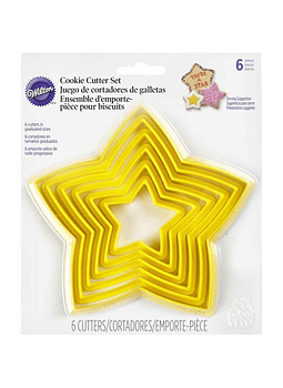 Juego cortador estrella plástico 2304-111