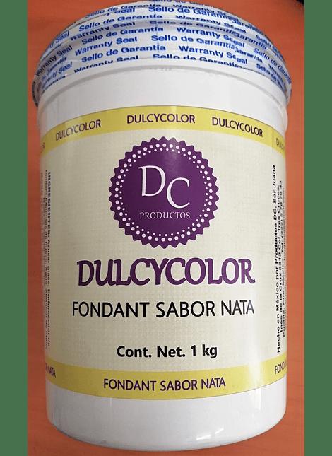 DCC Fondant Dulcycolor Sabor Nata 1 Kg