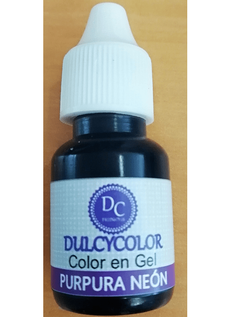 DCC Color vegetal Dulcycolor Purpura Neón