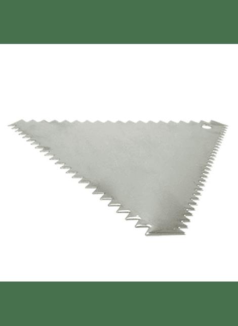 ALE Peine Triangular ainox 12x10 cm 7-0005