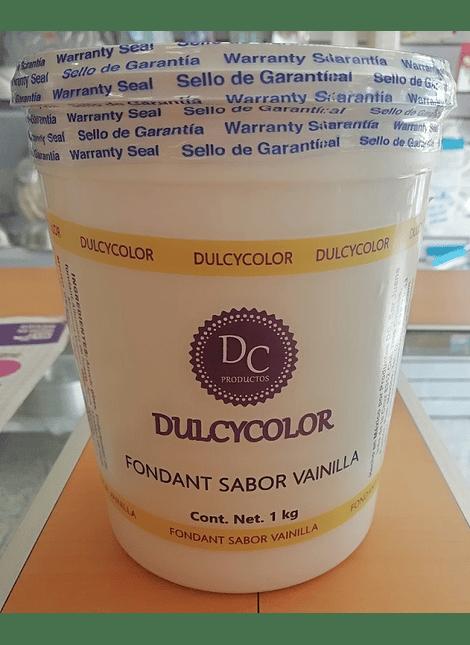 DCC Fondant Dulcycolor Vainilla 1 Kg