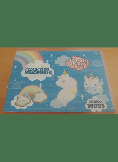 CAC Cortadores colección unicornios 16005