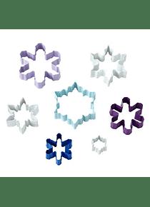 WIL Juego cortador copo de nieve c/7 metal 2308-0577