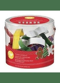 WIL  Juego de cortadores navideños c/12 pz 2308-3889