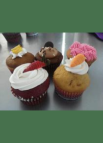 Curso Cupcakes 5 sabores
