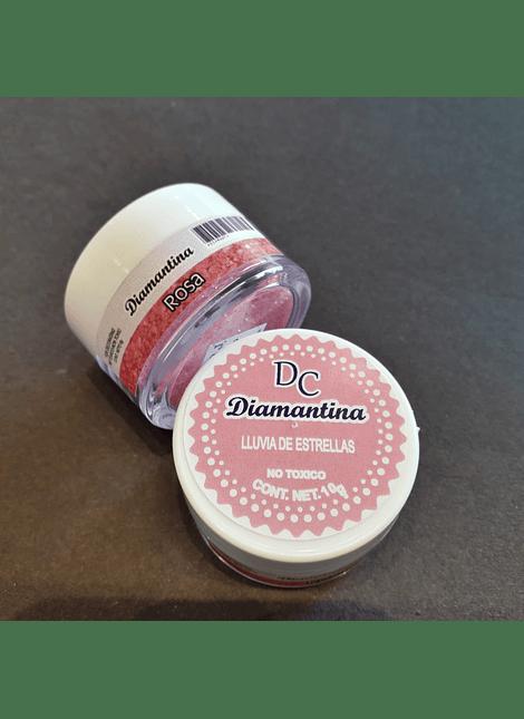 Diamantina Dulcycolor tarro de 10 gr rosa
