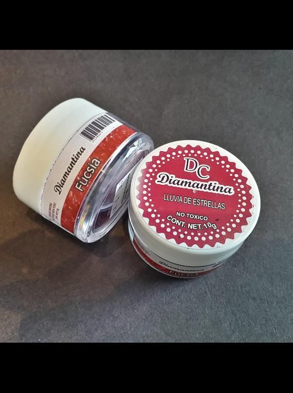 Diamantina Dulcycolor tarro de 10 gr fucsia