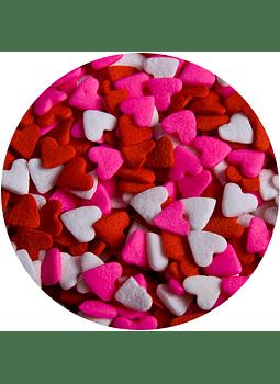 ALE Kg Confeti corazon rj,bl,rs, 721727