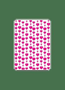 Estencil Lluvia de corazones S157