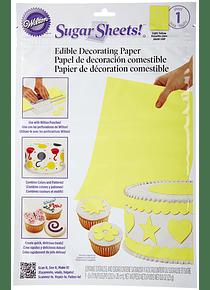 Sugar sheet amarillo 710-2955