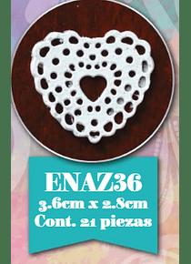 Encaje de azúcar ENAZ36 21 piezas