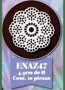 Encaje de azúcar 10 pzs ENAZ47
