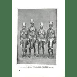 1910 The Otufo Dress Incrobo, Gold Coast Initiation Ceremony Dress